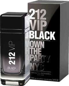 212 Vip Black Men de Carolina Herrera EDP x 200 ml