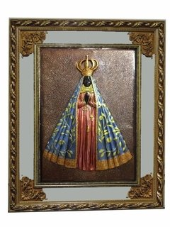 CS13 - QUADRO FIG RELIGIOSA 80X100  APARECIDA