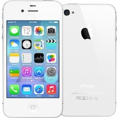 iPhone 4S Apple 8GB com Câmera 8MP, Touch Screen, 3G, GPS, MP3, Bluetooth e Wi-Fi - Branco - comprar online