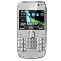 NOKIA E6 PRATA QWERTY C/ CÃMERA 8MP+ VGA, 3G, WI-FI, GPS, BLUETlOOTH, TOUCH SCREEN - comprar online