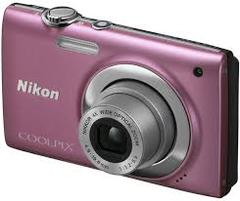 CÂMERA DIGITAL NIKON COOLPIX S2500 12 MP 4 X ROSA na internet