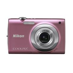 CÂMERA DIGITAL NIKON COOLPIX S2500 12 MP 4 X ROSA - infotecline