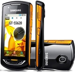 SAMSUNG STAR 3G GT-S5620B WI-FI, CAM 3.2, GPS, BLUETOOTH, MP3 PLAYER, RÁDIO FM, CARTÃO 2GB