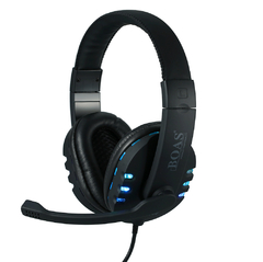 Headset GAMER Bq 9700 Usb, Pc E Ps3, Xbox Digital Stereo C Fio Boas - infotecline