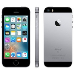 "iPhone SE Apple com 16GB, Tela 4"", iOS 9, Sensor de Impressão Digital, Câmera iSight 12MP, Wi-Fi, 3G/4G, GPS, MP3, Bluetooth CINZA ESPACIAL"