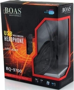 Headset GAMER Bq 9700 Usb, Pc E Ps3, Xbox Digital Stereo C Fio Boas
