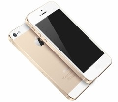 "IPHONE SE APPLE COM 16GB, TELA 4"", IOS 9, SENSOR DE IMPRESSÃO DIGITAL, CÂMERA ISIGHT 12MP, WI-FI, 3G/4G, GPS, MP3, BLUETOOTH DOURADO na internet"