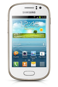 Celuar Samsung Galaxy Fame Duos GT-S6812 Branco, processador de 1Ghz Single-Core,  Bluetooth Versão 4.0, Android 4.1.2 Jelly Bean, Quad-Band 850/900/1800/1900 na internet