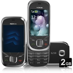 Celular Nokia 7230 Slide GRAFITE, 3g, 3.2mp, Bluetooth Mp3