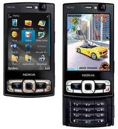 NOKIA N95 8GB PRETO ANATEL 3G, WI-FI, GPS, BLUETOOTH, MP3 PLAYER - comprar online