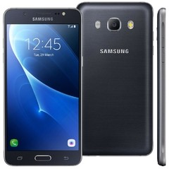 Smartphone Samsung Galaxy J5 Metal SM-J510MN/DS, Quad Core 1.2Ghz, Android 6.0, Tela 5.2, 16GB, 13MP, 4G, Dual Chip, Desbl. preto na internet