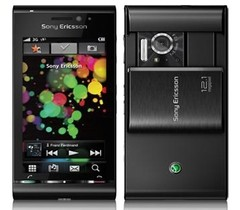 CELUAR Sony Ericsson Satio U1 Touchscreen, videoconferência, bluetooth, Wi-fi e GPS, CAM 12 MP, Quad Band (850/900/1800/1900)
