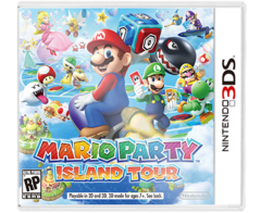 Mario Party Island Tour 3DS