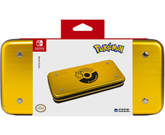 HORI Nintendo Switch Pikachu Alumi Case (Gold) Officially Licensed By Nintendo & Pokemon - Nintendo Switch