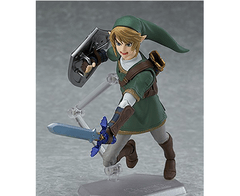 Good Smile The Legend of Zelda Twilight Princess Link Figma Action Figure - hadriatica
