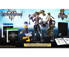 PS4 KINGDOM HEARTS III [DELUXE EDITION] + BRING ARTS FIGURES PS4