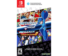 Mega Man Legacy Collection 1 + 2 - Nintendo Switch Megaman