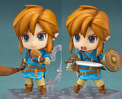 Nendoroid Good Smile The Legend of Zelda: Breath of The Wild Link DELUXE Nendoroid Action Figure - tienda online