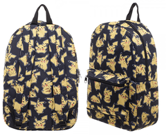 Mochila Pokemon Pikachu Black