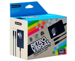 Universal Retro 3 en 1 AC Adapter - Retro Versal Retro-Bit - AC Adapter for NES / SNES / Genesis 1
