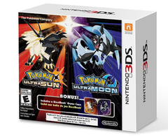 Pokemon Ultra Sun and Pokemon Ultra Moon Steelbook Dual Pack