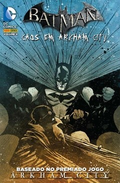 BATMAN - CAOS EM ARKHAM CITY -  VOLUME 4