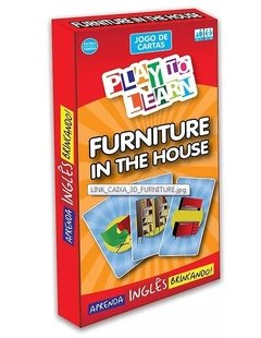 PLAY TO LEARN - FURNITURE IN THE HOUSE (JOGO DE CARTAS)