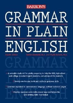 GRAMMAR IN PLAIN ENGLISH - FOURTH EDITION