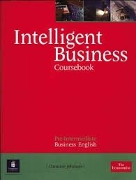 INTELLIGENT BUSINESS PRE-INTERMEDIATE - COURSEBOOK WITH AUDIO CD