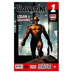WOLVERINE #001 - LOGAN, O ASSASSINO!