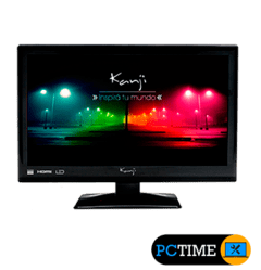 MONITOR TV KANJI LED Full HD TDA C/Control remoto 24 Pulgadas