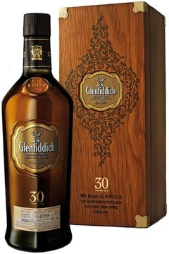 Whisky Single Malt Glenfiddich 30 Años Old Rare Collection.
