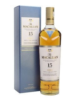 Whisky The Macallan 15 Años Triple Cask 700ml Orig. Escocia.