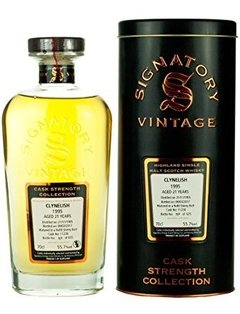 Whisky Clynelish 1995 21 Años Signatory Cask Strength 55,7%abv - comprar online