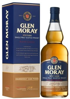 Whisky Single Malt Glen Moray Classic Chandonay Speyside.