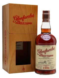 Whisky Glenfarclas The Family Casks 1996 58,9% Orig. Escocia.