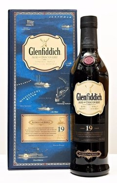 Whisky Glenfiddich 19 Años Age Of Discovery Bourbon Cask.