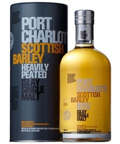 Whisky Bruichladdich Port Charlotte Scottish Barley