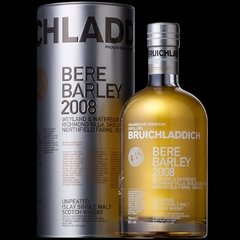 Whisky Single Malt Bruichladdich Bere Barley 2008 700ml.