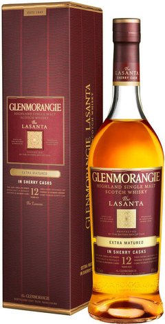 Whisky Single Malt Glenmorangie Lasanta Sherry Cask 46% - comprar online