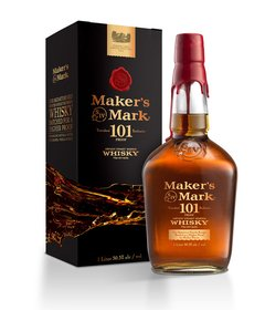 Whisky Bourbon Maker´s Mark 101 Proof De Litro