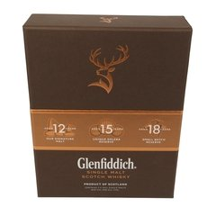 Whisky Glenfiddich Explorer's Collection + Copa Glencairn Origen Escocia. - Todo Whisky