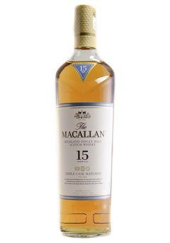 Whisky The Macallan 15 Años Triple Cask 700ml Orig. Escocia. - comprar online
