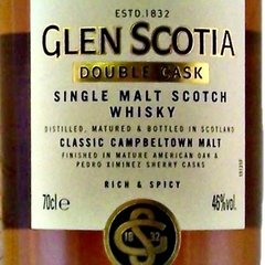 Whisky Single Malt Glen Scotia Double Cask Origen Escocia. - comprar online