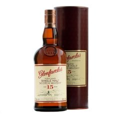 Whisky Single Malt Glenfarclas 15 Años 700ml. En Estuche.
