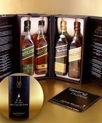 Whisky Johnnie Walker The Collection Pack Blue & Green Label en internet