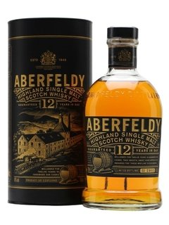 Whisky Single Malt Aberfeldy 12 Años Botellón de Litro.