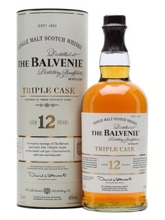 Whisky The Balvenie Triple Cask 12 Años 1000ml. En Estuche.