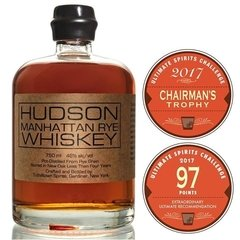 Whisky Hudson Manhattan Rye 750ml 46% abv Origen Usa.
