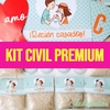 KIT CIVIL CASAMIENTO PREMIUM